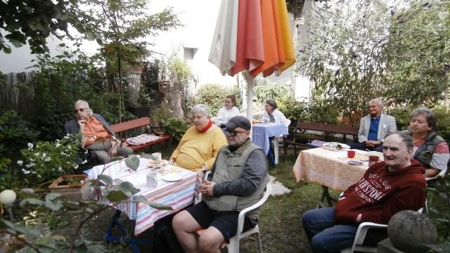 Kulturfrühstück am 19.09.2020 unter besonderen Bedingungen.