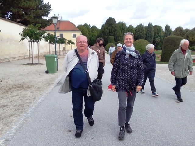 Spaziergang in Schönbrunn am 26.09.2020