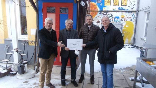 Spendenübergabe Rotary Club Wien Hietzing