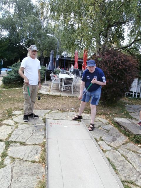 Minigolf Baumgarten 08.08.2019